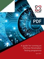 CREST Penetration Testing Guide