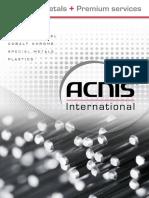 Acnis Brochure-Titanium Grades