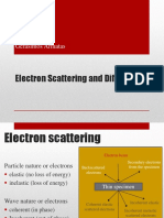 Electron Scattering and Diffraction