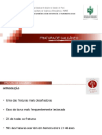 Fraturas Do Calcaneo - Aula Segunda Trauma Em PDF