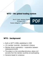 WTO - The Global Trading System