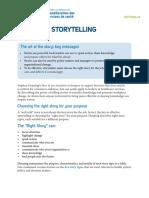 Effective Storytelling