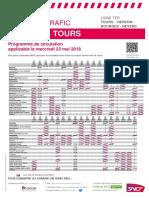 Tours - Vierzon - Bourges - Nevers Du 23-05-2018