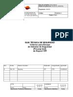 Guía Técnica de Seguridad de Criterios Para Ensayos de Válvulas de Seguridad (Pre-pop Test) de Re