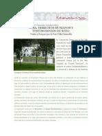 Guia Visita a Parque Por La Paz Villa Grimaldi