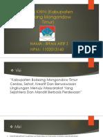 Kabupaten Bolaang Mongondow Timur (Irfan Arif Z ; 1102013140)