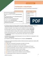 Oexp12 Ficha Gramatica Coordenacao Subordinacao