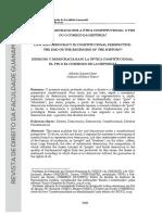 Alfredo Copetti - Direito e Democracia Sob a Ótica Constitucional
