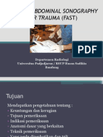 Focused Abdominal Sonography for Trauma (Fast) - Dr. Bunyamin