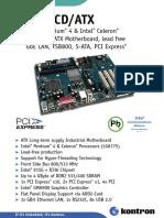 Kontron 889lcd ATX Datasheet1 2143436220