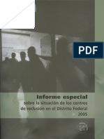 Informe Reclusion 2005