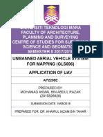 Application of UAV.docx