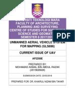 Issue of UAV.docx