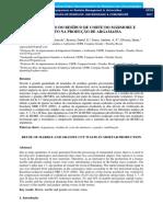 Reutilização Do Resíduo de Corte Do Mármore e Granito Na Produção de Argamassa
