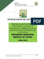 Programa Educca Los Olivos 2018-2022