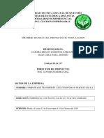 Informe de Vinculacion