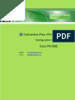 CISCO PIX506-E - IPSec VPN configuration guide