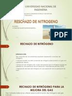 P4_RECHAZO DE NITRÓGENO PARA MEJORAR gas natural
