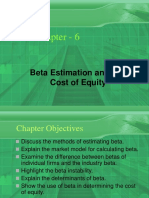 Beta Estimation