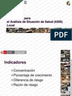 4. Indicadores Para El ASIS