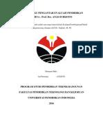 Review Buku Pengantar Evaluasi Pendidikan (Ari Permana) 1502035