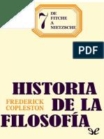 De Fitche a Nietzsche - Frederick Copleston