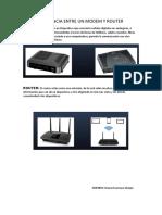 Diferencia Entre Un Modem y Router