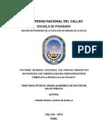 TESIS -Tbc SEDE Huancayo-8mayo Factores Riesgo-fracaso Terapeutico