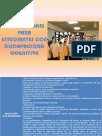Adecuaciones Para Estudiantes Con Discapacidad Cognitiva