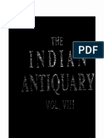 The Indian Antiquary Vol - VIII