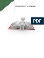 Manual de Como Instalar Wampserver 1