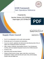 SCOR Framework