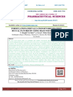 FORMULATIONANDEVALUATIONOFVORICONAZOLE BUCCAL PATCHES BY USING SELECTED POLYMERS