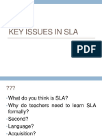 4 SLAWeek1 Issues