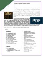 Análisis de La Obra - 1 Hoja