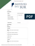 Score Report_ Entrenamiento Cognitivo - Sesion 1