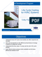 Life Cycle Costing - HVAC