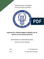 Control Vehiculo Mediante PID