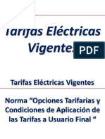 Tarifas Eléctricas 2013 (Res. 206-2013 OS-CD) UDEP
