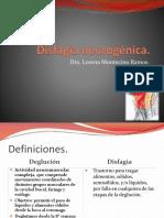 Disfagia neurogénica