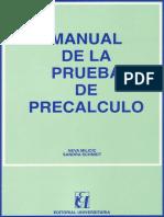 Manual Prueba de Pre Calculo