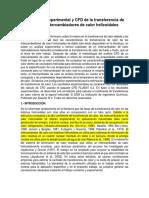 1.- Paper_Estimación Experimental y CFD de La Transferencia de Calor en Intercambiadores de Calor Helicoidales