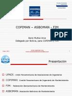 Copiman Fim Asboman Historia, Boris Muñoz