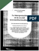Seoane, José Antonio en La interpretación en la era del  neoconstitucionalismo.pdf