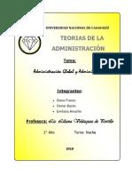 Administración Global y Administrativa