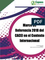 CACEI - Marco de Referencia 2018