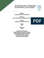 Caracterizacion Estatica de Yacimientos Con Datos de La Loratorio