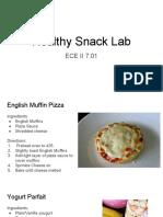 healthy snack lab