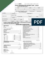 Cuestionario Estudio Empresas de Transporte Naviero 2008