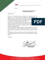 Carta de SEE Aceros Del Perú